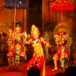 Traditional Indonesian Dance Show