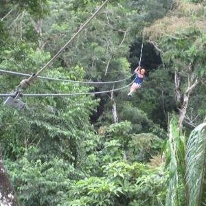 Belize Cave Tubing and Zipline
