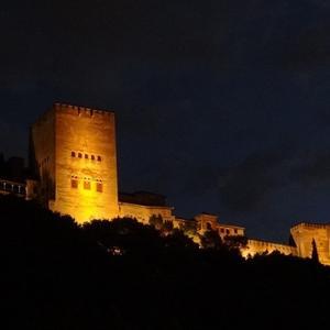 Tour nocturno de La Alhambra para dos