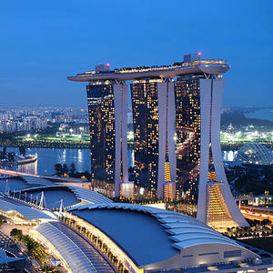 First Night at St. Regis, Singapore