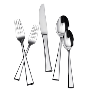 65-Piece Stainless Steel Flatware