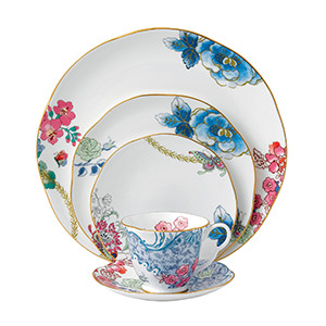 Butterfly Bloom 5-Piece Place Setting