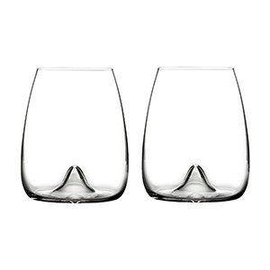 Elegance Stemless Wine Glass (Set of 2)