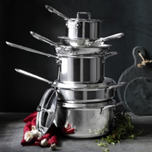 All-Clad d5 Stainless-Steel Cookware