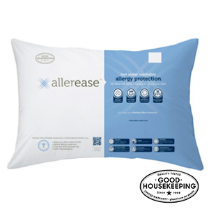 AllerEase Hot Water Washable Pillow