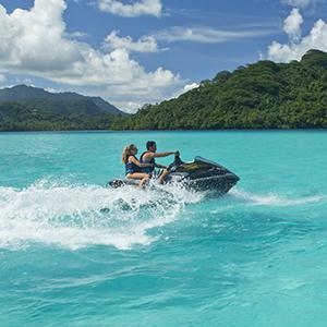 Jet Ski the Bora Bora Lagoon
