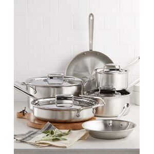 All Clad 10 Piece Cookware Set