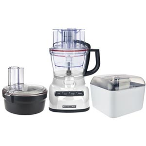 KitchenAid 13-cup Exact Slice Food Processor w/ Dicing Kit