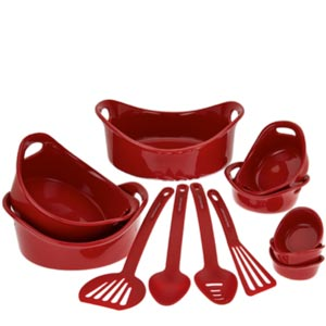 Rachel Ray 12 piece round bakeware set