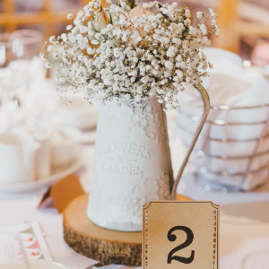 Reception Center Pieces