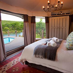 Luxury Safari Tent Accommodations