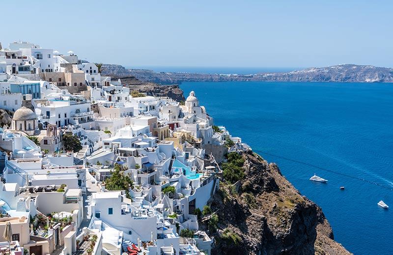 Explore Santorini & Crete